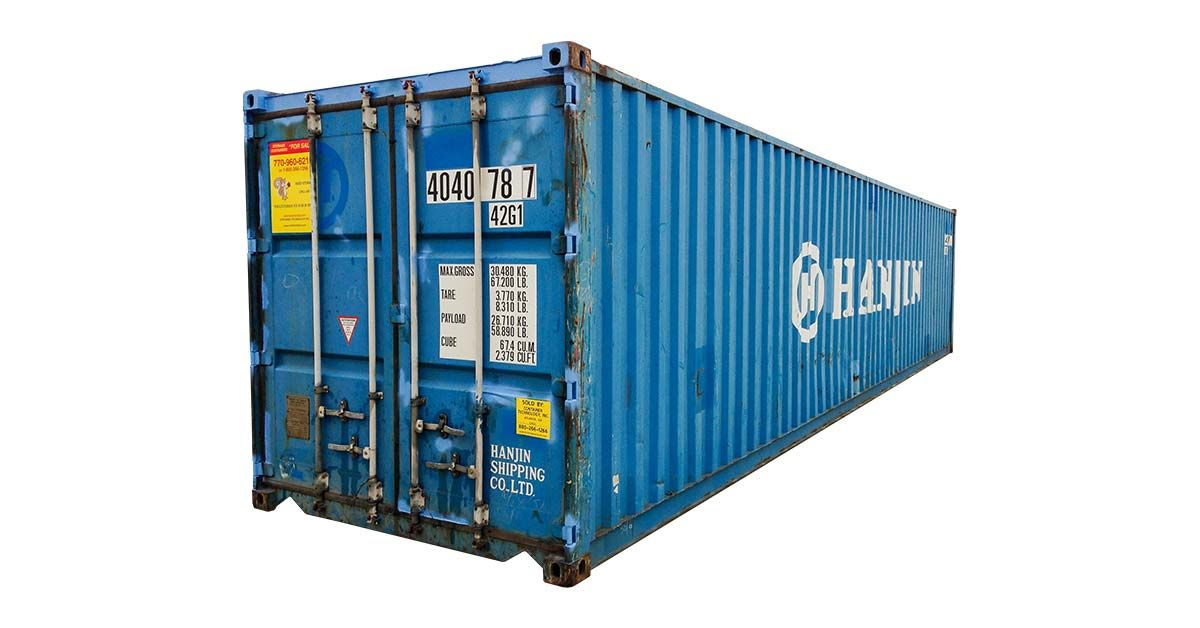 40' Standard Container - Cargo Worthy