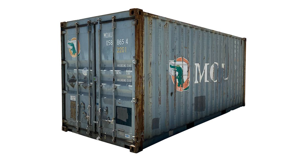 20' Standard Container - Wind And Water Tight