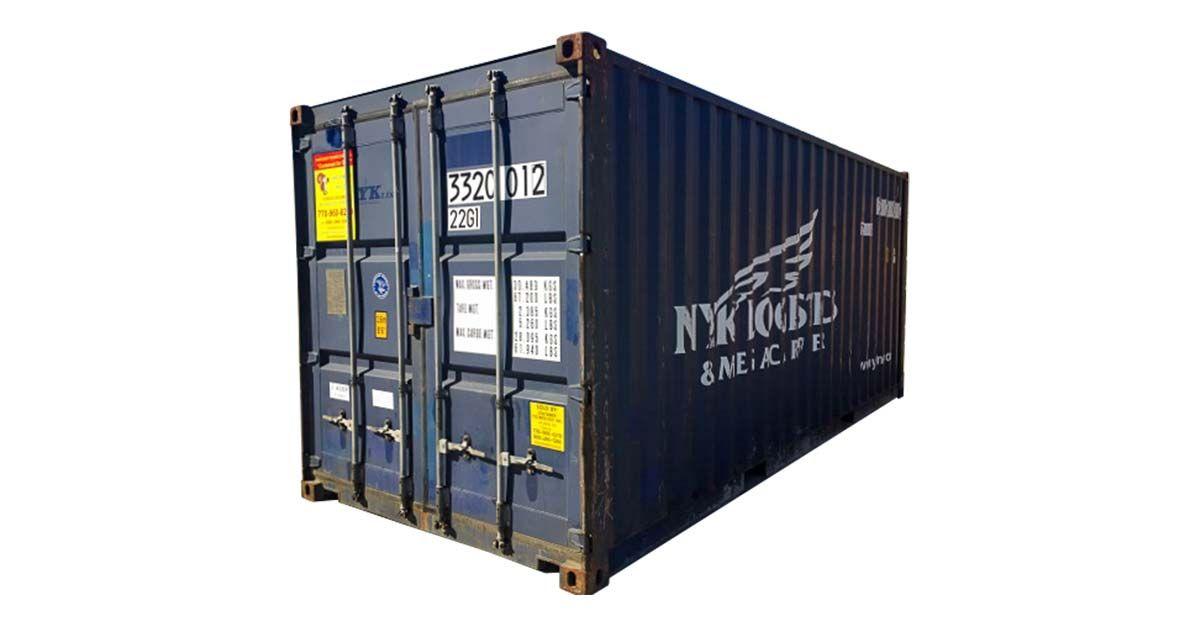 20' Standard Container - Cargo Worthy