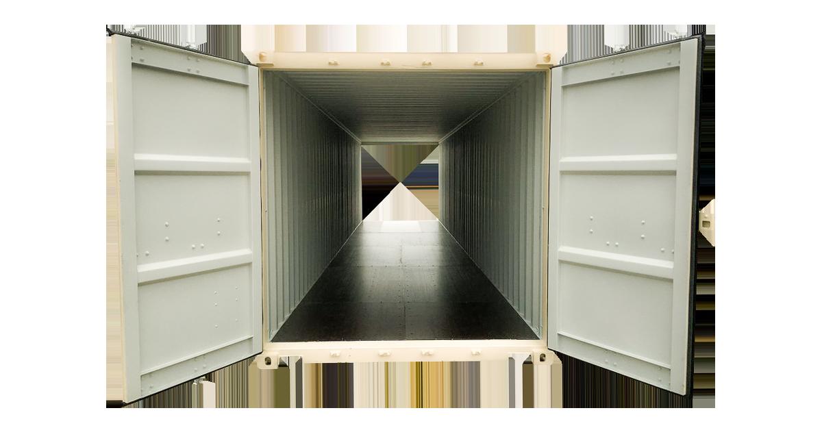 40' High Cube Double Door - One Trip