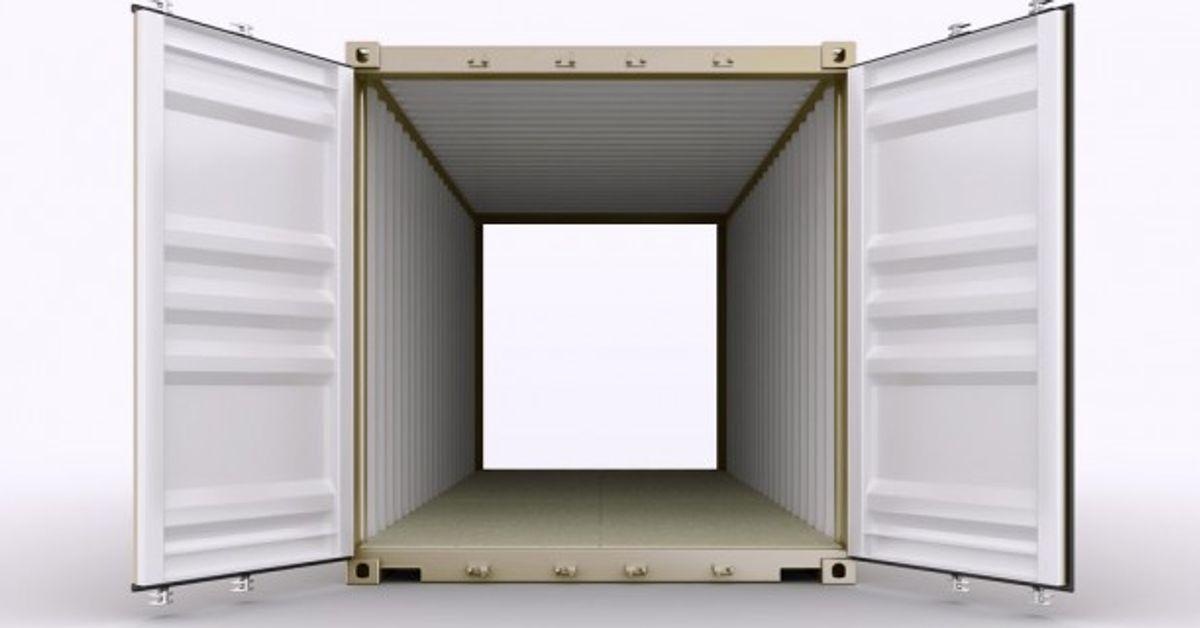 40' Double Door Container - Rental