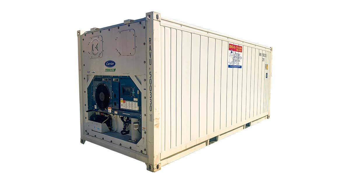 20' Refrigerated Container - Working