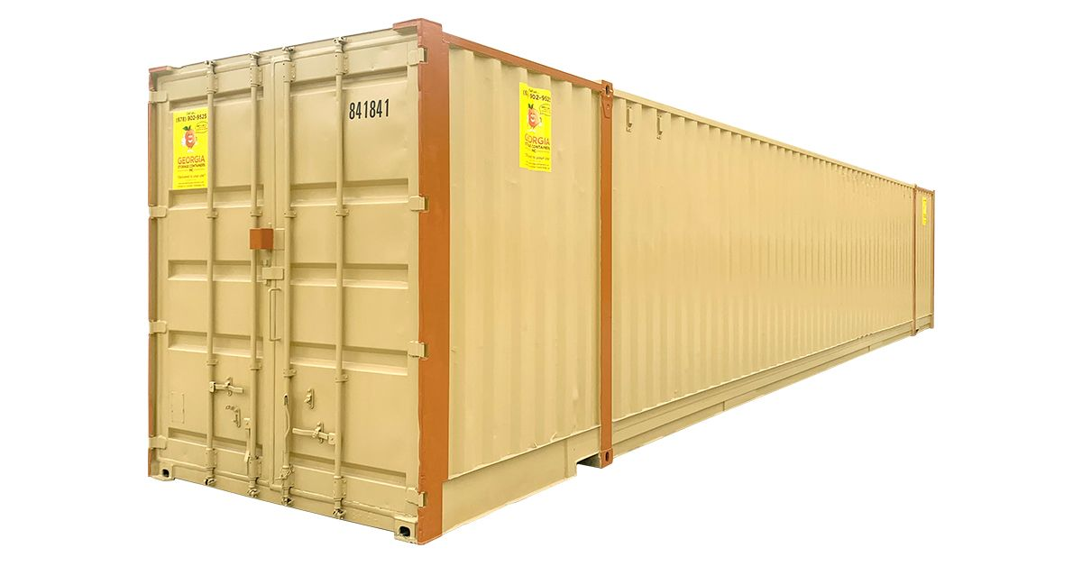 48ft High Cube Rental Container
